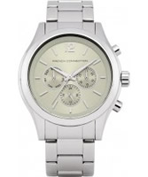 Buy French Connection Chronograph Mayfair Silver Bracelet Watch online