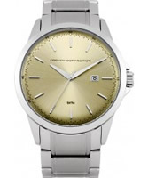 Buy French Connection Mens Silver Steel Bracelet Watch online