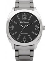 Buy Ben Sherman Mens Black and Silver Watch online