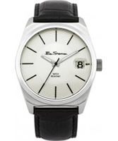 Buy Ben Sherman Mens White and Black Watch online