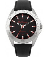 Buy Ben Sherman Mens Black Leather Strap Watch online