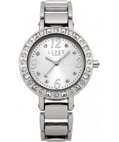Buy Lipsy Ladies All Silver Skinny Bracelet Watch online