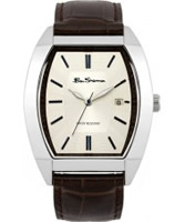 Buy Ben Sherman Mens White and Brown Watch online