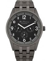 Buy Ben Sherman Mens Black Multi Dial Watch online
