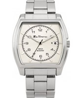 Buy Ben Sherman Mens White and Silver Watch online