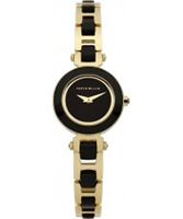 Buy Karen Millen Ladies Gold and Black Watch online