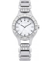 Buy French Connection Ladies Savile Crystal Silver Bracelet Watch online
