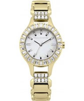 Buy French Connection Ladies Savile Crystal Gold Watch online