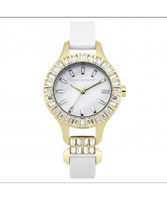 Buy French Connection Ladies Savile Crystal White Watch online