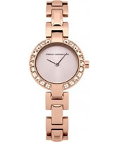 Buy French Connection Ladies Rosemont Crystal Rose Gold Watch online