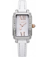 Buy Lipsy Ladies Silver and White Watch online