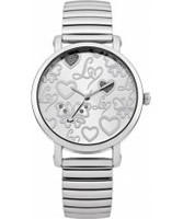 Buy Lipsy Ladies Silver Expander Bracelet Watch online