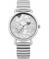 Buy Lipsy Ladies Silver Expander Bracelet Watch online