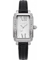 Buy Lipsy Ladies Silver and Black Watch online