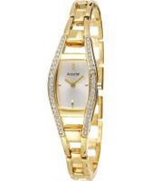 Buy Accurist Ladies Core Crystals Gold Watch online