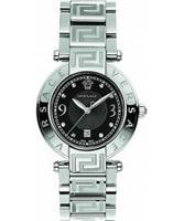 Buy Versace Reve Silver Black Watch online