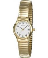 Buy Accurist Ladies Core Expanders Gold Watch online