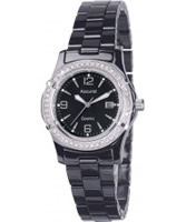 Buy Accurist Ladies Core Ceramic Black Watch online