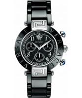 Buy Versace Reve Black Ceramic Chrono Watch online