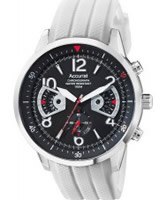 Buy Accurist Mens Chronograph White Watch online