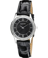 Buy Accurist Ladies All Black Watch online