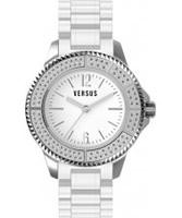 Buy Versus White Tokyo Crystal Watch online