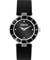 Buy Versus Ladies Logo Black Watch online