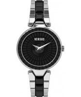 Buy Versus Ladies Sertie Silver Black Watch online