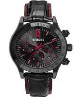 Buy Versus Mens Cosmopolitan Black Chronograph Watch online