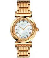 Buy Versace Vanity Rose Gold Watch online