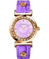 Buy Versace Vanity Purple Watch online