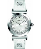 Buy Versace Vanity Silver White Watch online