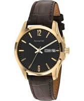 Buy Accurist Mens Black Dial Watch online