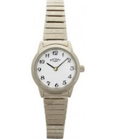 Buy Rotary Ladies Expander Gold Plated Watch online