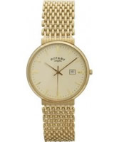 Buy Rotary Mens 9Ct Gold Watch online