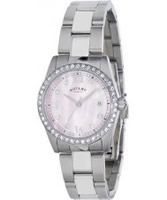 Buy Rotary Ladies Havana Crystal Set Watch online