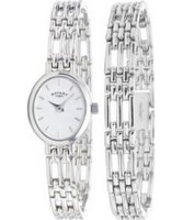 Buy Rotary Ladies Sterling Silver Watch With Matching Bracelet online