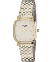 Buy Rotary Mens Windsor Gold Plated Watch online