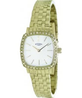 Buy Rotary Ladies Windsor Slim Gold Plated Watch online