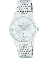 Buy Dreyfuss and Co Mens Sapphire Glass Silver Watch online