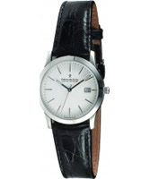 Buy Dreyfuss and Co Mens Silver Black Watch online