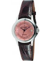 Buy Dreyfuss and Co Mens Copper Rose Stamped Brown Watch online