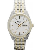 Buy Rotary Mens Seville Two Tone Watch online