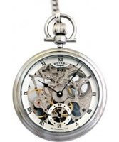 Buy Rotary Mens Steel Pocket Watch online