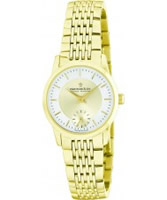 Buy Dreyfuss and Co Ladies Sapphire Glass Gold Watch online