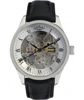 Buy Rotary Mens Automatic Skeleton Watch online