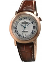 Buy Dreyfuss and Co Mens Hand Made Rose Gold Watch online