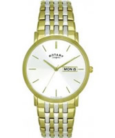 Buy Rotary Mens Two Tone Bracelet Watch online