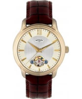 Buy Rotary Mens Timepieces Gold PVD Automatic Watch online