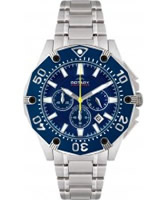 Buy Rotary Mens Aquaspeed Blue Dial Chronograph Watch online